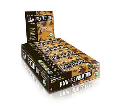 Raw Revolution Bar - Organic - Super Food - Chnk PBt Choc - 1.6 oz - Case of 12