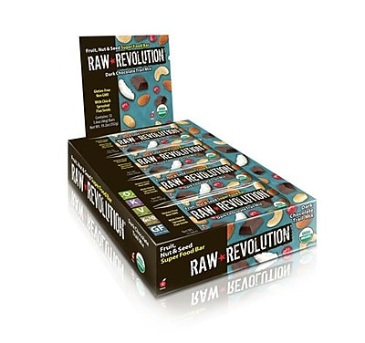 Raw Revolution Bar - Organic - Super Food - Dk Choc Tr Mx - 1.6 oz - Case of 12