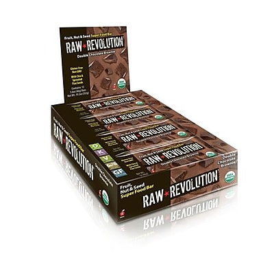 Raw Revolution Bar - Organic - Super Food - Choc Brownie - 1.6 oz - Case of 12
