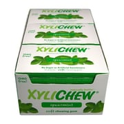 Xylichew Gum - Spearmint - Counter Display - 12 Pieces - Case of 24