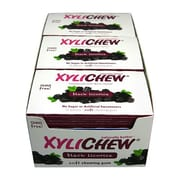 Xylichew Gum - Black Licorice - Counter Display - 12 Pieces - Case of 24