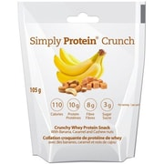 Simply Protein Crunch - Banana Crml Cashew Nt - Sngl Srv - 1.16 oz - Case of 12