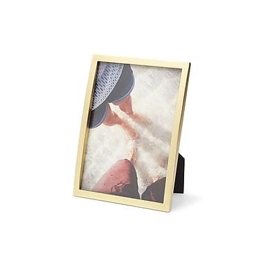 Umbra – Présentoir à photographies Senza, 5 x 7 po, laiton mat (306785-221)