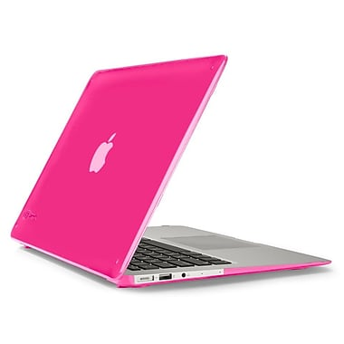 Speck – Étui SeeThru pour MacBook Air de 13 po, rose vif (SPK-71480-B198)