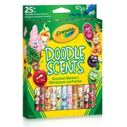 Crayola Doodle Scents Markers, 25/Pack