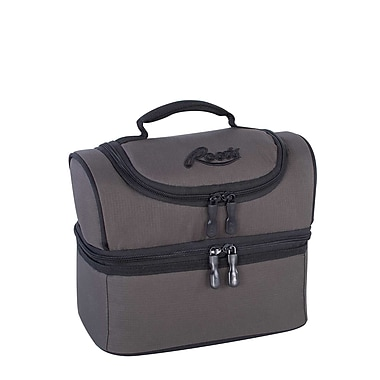 Roots 73 Insulated 2 Compartment Lunch Bag, Grey