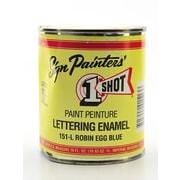 1-Shot Lettering Enamel Robin Egg Blue Pint Can (151-L PT)