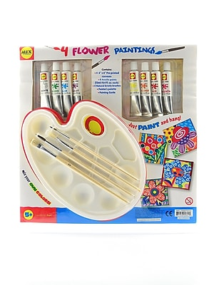 Alex Toys Four Flower Paintings Each (562FL)