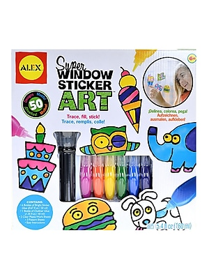 Alex Toys Super Window Sticker Art Each (143N)