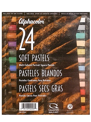 Alphacolor Soft Pastel Sets Portrait Colors Set Of 24 (102-008) 2246640