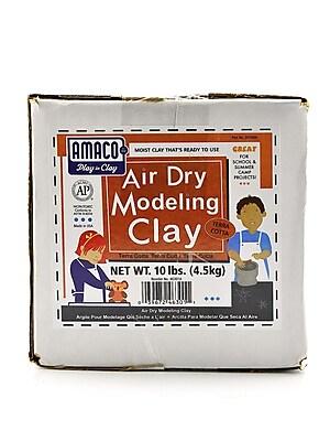 Amaco Air Dry Clays Terra Cotta 10 Lb. (46301A)