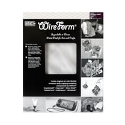 Amaco Wireform Metal Mesh Aluminum Woven Sparkle Mesh - 1/8 In. Pattern Pack Of 3 Sheets (50011M)