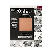Amaco Wireform Metal Mesh Copper Woven Decorative Mesh - 8 Mesh Pack Of 2 Sheets (50025H)