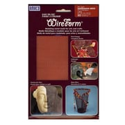 Amaco Wireform Metal Mesh Copper Woven Impression Mesh - 1/8 In. Pattern Mini-Pack (50007G)