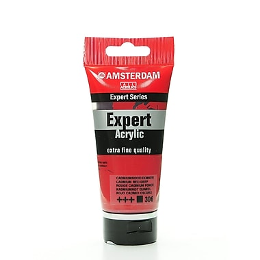 Amsterdam Expert Acrylic Tubes Cadmium Red Deep 75 Ml [Pack Of 2] (2PK-100515334)