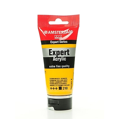 Amsterdam Expert Acrylic Tubes Cadmium Yellow Deep 75 Ml (100515315)