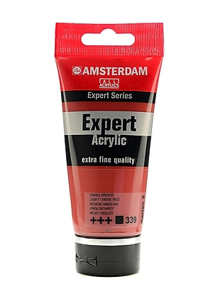 Amsterdam Expert Acrylic Tubes Light Oxide Red 75 Ml [Pack Of 2] (2PK-100515342)
