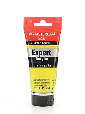 Amsterdam Expert Acrylic Tubes Permanent Lemon Yellow 75 Ml [Pack Of 2] (2PK-100515323)