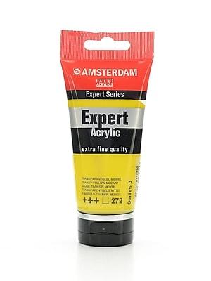 Amsterdam Expert Acrylic Tubes Transparent Yellow Medium 75 Ml [Pack Of 2] (2PK-100515327)