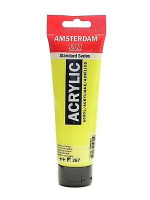 Amsterdam Standard Series Acrylic Paint Azo Lemon Yellow 120 Ml [Pack Of 3] (3PK-100515143)