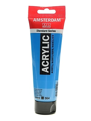 Amsterdam Standard Series Acrylic Paint Brilliant Blue 120 Ml [Pack Of 3] (3PK-100515180)