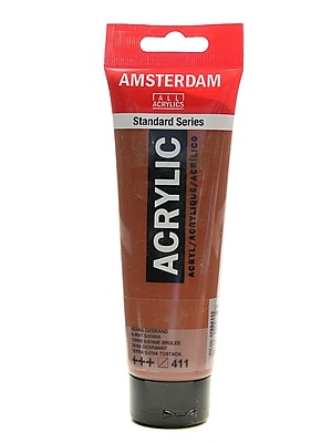 Amsterdam Standard Series Acrylic Paint Burnt Sienna 120 Ml [Pack Of 3] (3PK-100515171)
