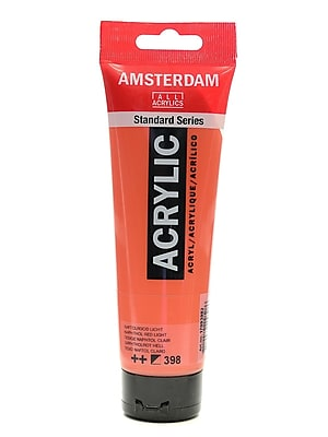 Amsterdam Standard Series Acrylic Paint Naphthol Red Light 120 Ml [Pack Of 3] (3PK-100515167)