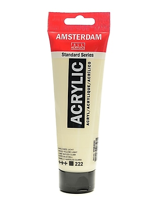 Amsterdam Standard Series Acrylic Paint Naples Yellow Light 120 Ml [Pack Of 3] (3PK-100515133)
