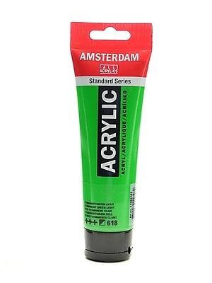 Amsterdam Standard Series Acrylic Paint Permanent Green Light 120 Ml [Pack Of 3] (3PK-100515191)