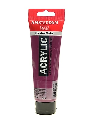 Amsterdam Standard Series Acrylic Paint Permanent Red Violet 120 Ml [Pack Of 3] (3PK-100515182)