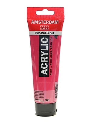 Amsterdam Standard Series Acrylic Paint Primary Magenta 120 Ml [Pack Of 3] (3PK-100515163)