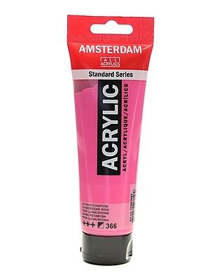 Amsterdam Standard Series Acrylic Paint Quinacridone Rose 120 Ml [Pack Of 3] (3PK-100515162)