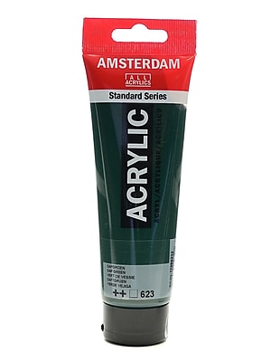 Amsterdam Standard Series Acrylic Paint Sap Green 120 Ml [Pack Of 3] (3PK-100515195)