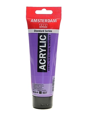 Amsterdam Standard Series Acrylic Paint Ultramarine Violet 120 Ml [Pack Of 3] (3PK-100515173)