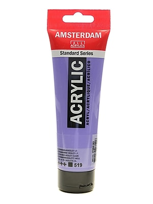Amsterdam Standard Series Acrylic Paint Ultramarine Violet Light 120 Ml [Pack Of 3] (3PK-100515176)
