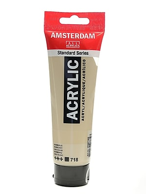 Amsterdam Standard Series Acrylic Paint Warm Grey 120 Ml [Pack Of 3] (3PK-100515200)