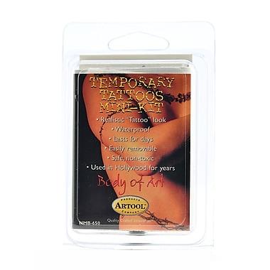 Artool Body Of Art Temporary Tattoo Kits Master Mini Kit [Pack Of 2] (2PK-NMB-650)