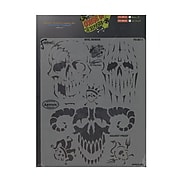 Artool Curse Of Skull Master Freehand Airbrush Templates By Craig Fraser Evil Horde (FH SK11 SP)