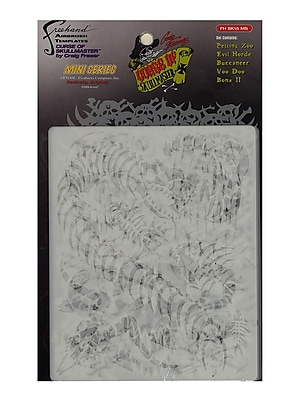 Artool Curse Of Skullmaster Mini Series Airbrush Templates Set Of 5 (FH SK15 MS)
