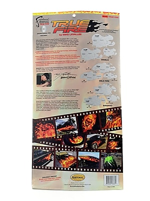 Artool Freehand True Fire Template Set Set Of 9 With Dvd (FH TF 1)
