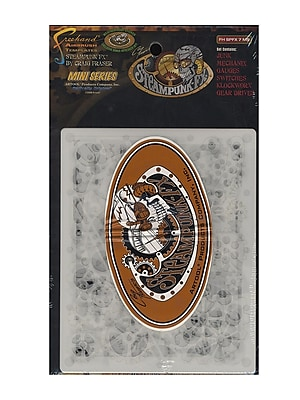 Artool Steampunk Fx Freehand Airbrush Templates By Craig Fraser Mini Series 5 In. X 7 In. Set Of 6 (FH SPFX 7 MS)