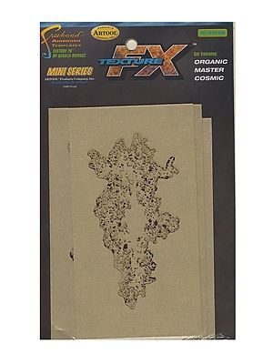 Artool Texture Mini Series Airbrush Templates Fx1 Set Of 3 (FH TFX 1 MS)