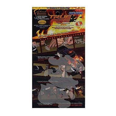 Artool True Fire Nano Series Freehand Airbrush Templates By Mike Lavallee 2 In. X 3 1/2 In. Set Of 3 (FH NS 3)
