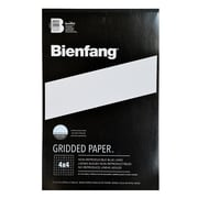 Bienfang Gridded Paper 4 X 4 11 In. X 17 In. Pad Of 50 [Pack Of 2] (2PK-910593)