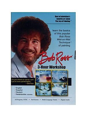 Bob Ross 3-Hour Workshop Instructional Dvd 3 Hour Dvd (BRW1D)