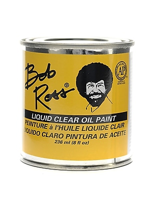 Bob Ross Base Coats Liquid Clear 8 Oz. [Pack Of 2] (2PK-R6237)