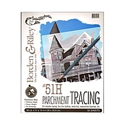 Borden  And  Riley #51H Parchment Tracing Paper 11 In. X 14 In. Pad Of 50 (51HP111450)