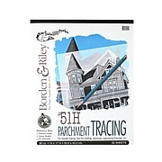 Borden  And  Riley #51H Parchment Tracing Paper 14 In. X 17 In. Pad Of 50 (51HP141750)