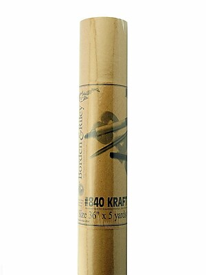 Borden And Riley #840 60 Lb Kraft Paper 36 In. X 5 Yd. Roll [Pack Of 2] (2PK-840R360500)