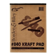 Borden  And  Riley #840 60 Lb Kraft Paper 9 In. X 12 In. 50 Sheets (840P091250)